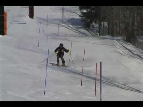 Sebastien Michel_ slalom training 2008.avi