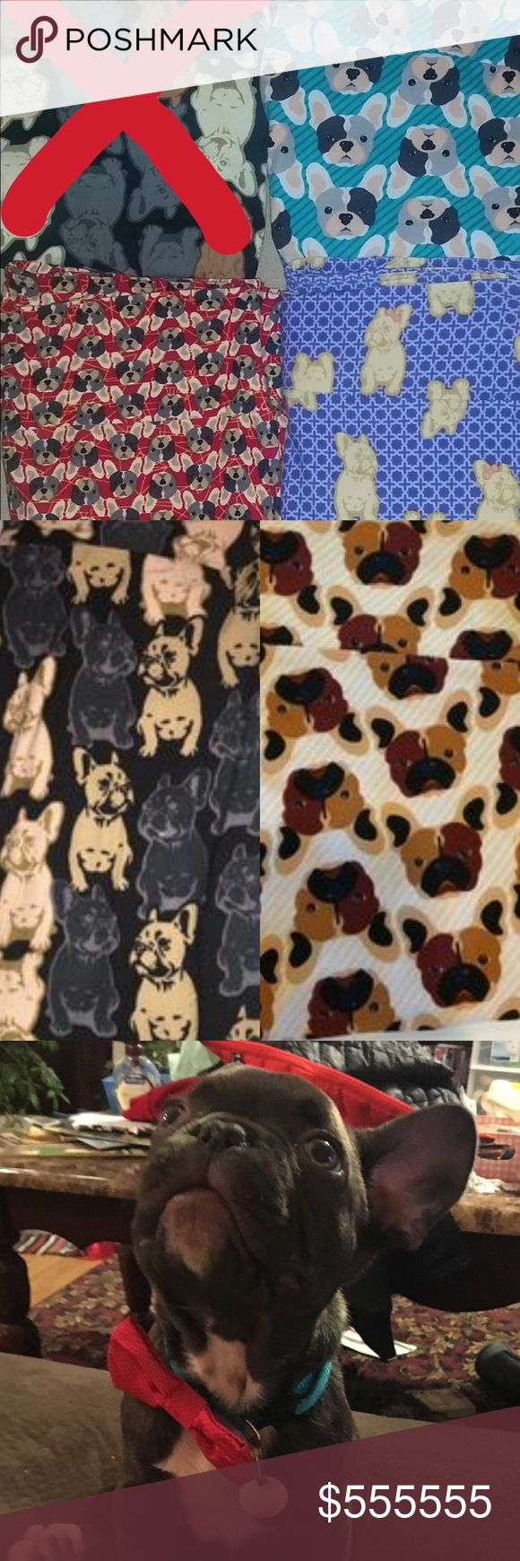 ISO LLR French bulldog leggings I am looking for the leggings listed in my photos. I need them in OS. And WILL NOT pay anything more than $5 over regular retail price (which means $30 is my top price I'm willing to pay)... also, if you have anything frenchie related, please tag me on the listing ❤️ Pants Leggings
