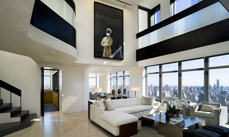 Modern new york city apartment i don 39 t even want to know for New york penthouse rent