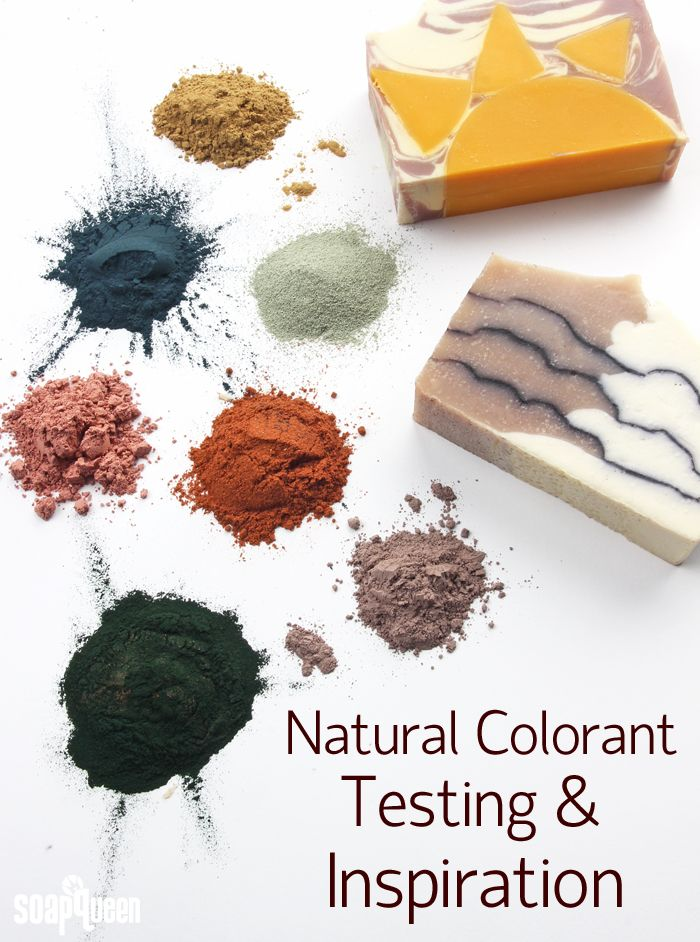 Natural Color Testing and Inspiration. Do you enjoy working with natural soap colorants? This post is full of colorant swatches, tips, tricks and information!