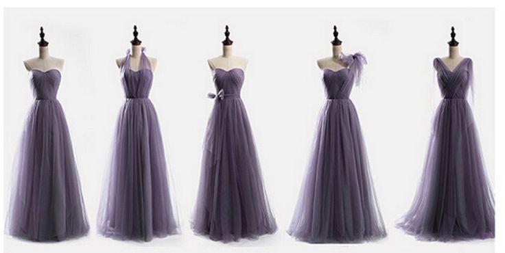 paars en lavendel bruidsmeisje jurken vintage vestido de bruid bruiloften festa longo goedkope bruidsmeisje jurken formele feestjurk in  van bruidsmeisje jurken op AliExpress.com | Alibaba Groep