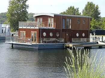Best Houseboat Images On Pinterest Houseboat Living Boats - Modern custom houseboat graphics
