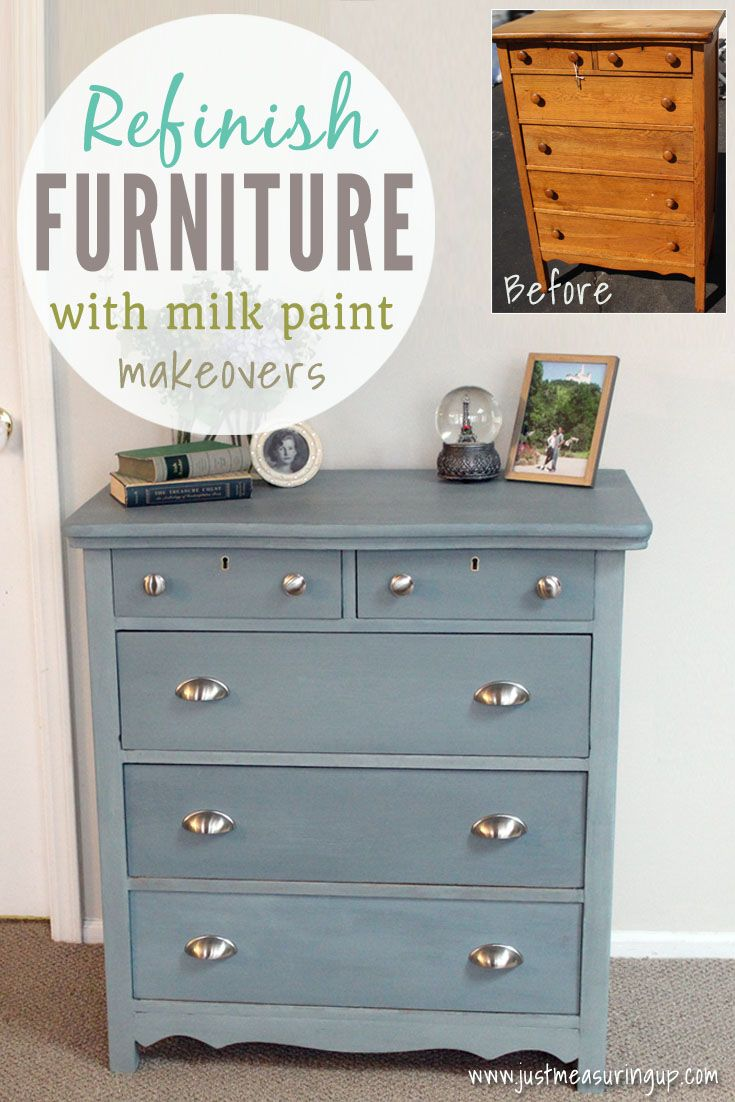 How To Use Milk Paint On A Dresser With Images Milk Paint