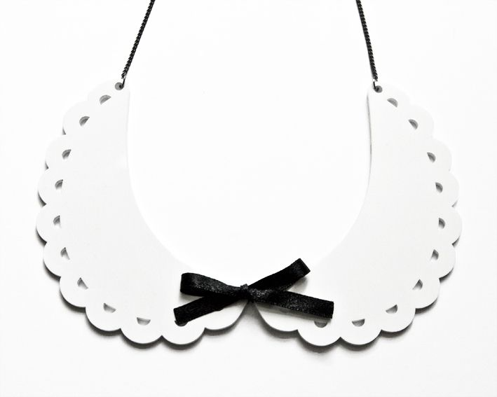 Peter Pan collar //Bubi-Kragen by great-handmade via dawanda.com