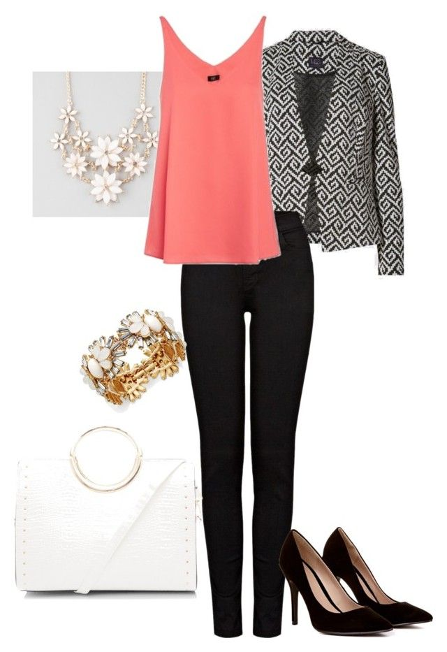 """""""Night out inspiration #3"""" by amooshadow on Polyvore featuring Marks & Spencer, J Brand, New Look and Full Tilt"""