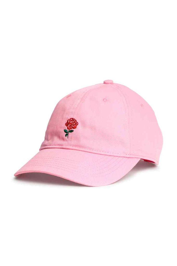 Хлопковая кепка - Розовый - Женщины | H&M RU 1