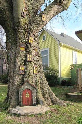 Fantastisch Moderne Deko Trends Garten Mit Baumstämme Gestalten 20 Großartig Idee 12  Und Aufdringlich Baumstamme Erstaunlich Auf
