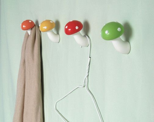 Mushroom Hook Green by Masako Sato