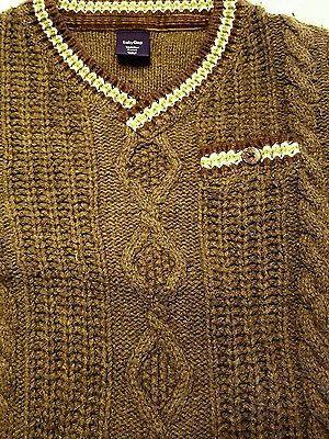 Baby Gap Toddler  3 Years Marled Wool V Neck Sweater