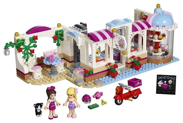 Heartlake Cupcake Cafe by Lego Friends | Best Gifts and Toys for 9 Year Old Girls | Best Girl Toys Age 9