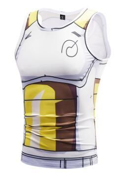 a702f309229ecc Vegeta Saiyan DBZ Armor Whis Symbol Compression Gym Tank Top  dbz   dragonball  anime
