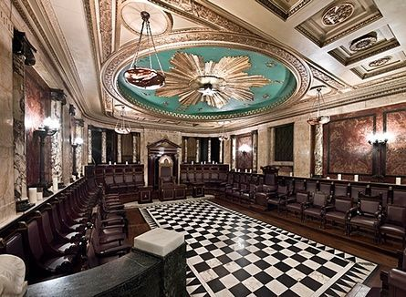 Hidden London interiors: Masonic Temple, Liverpool Street