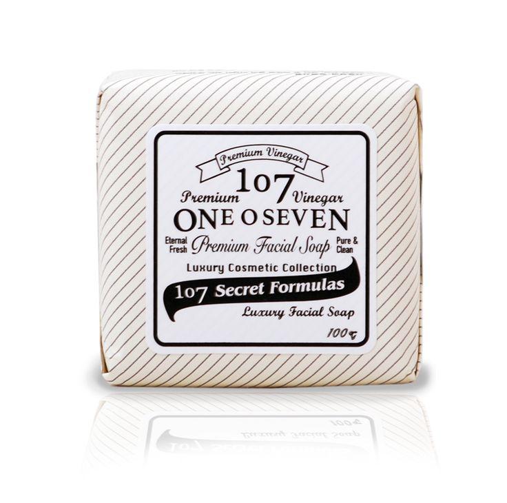 107 premium white facial soap