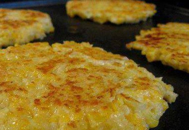 Cheesy Cauliflower Patties - Real Recipes from Mums