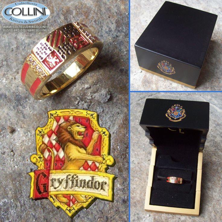 Harry Potter - Anello Grifondoro - Argento 925 - placcato oro http://www.coltelleriacollini.it/harry-potter-anello-grifondoro-argento-925-placcato-oro/
