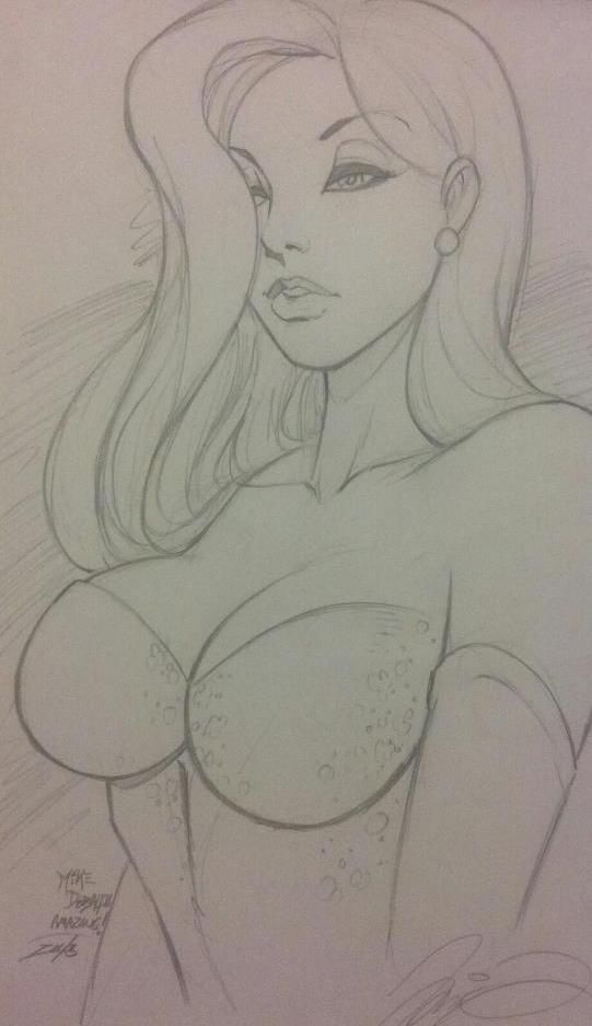 Jessica Rabbit Sketch