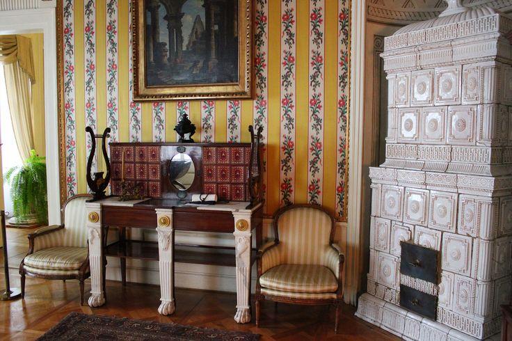 The Yellow Study, Nieborów Palace | Żółty Gabinet, Pałac w Nieborowie