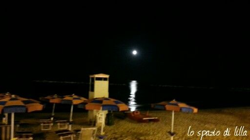 The moon & the beach Martinsicuro 4 luglio 2015