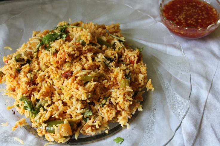 Another addition to my biryani array . I love making biryani, it is so easy on a busy day, because your dont have to worry about making ...