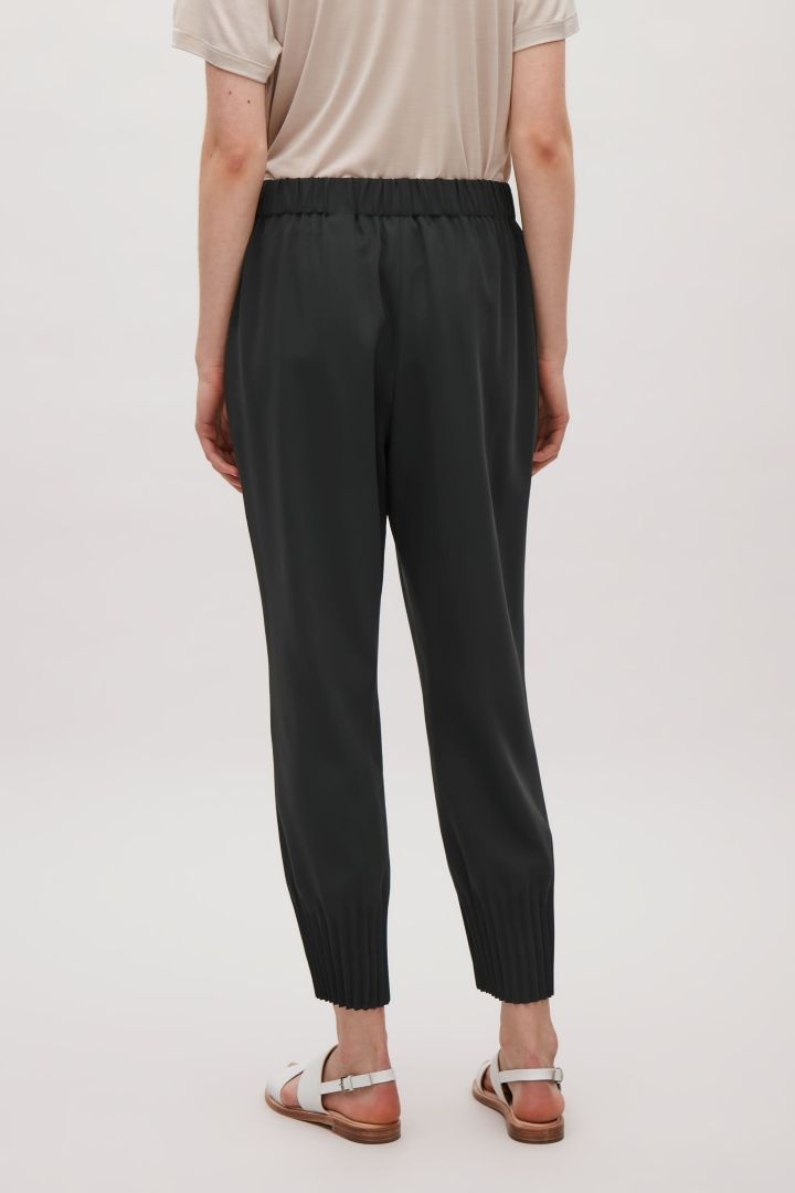 COS | Trousers with pleated hems