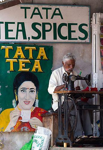 Indian Tailor, Munnar Markets India
