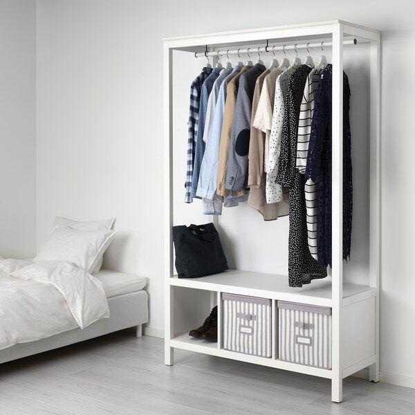 Armadio A Giorno Ikea.Armadio A Giorno Nel 2020 Hemnes Sistemazione Camera Da Letto Idee Ikea