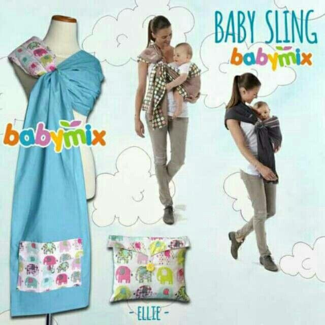 Saya menjual Babymix - Gendongan Bayi Baby Sling Ring Baby Carrier - Light Tosca Ellie seharga Rp95.000. Dapatkan produk ini hanya di Shopee! https://shopee.co.id/starbabyshop/23900823 #ShopeeID