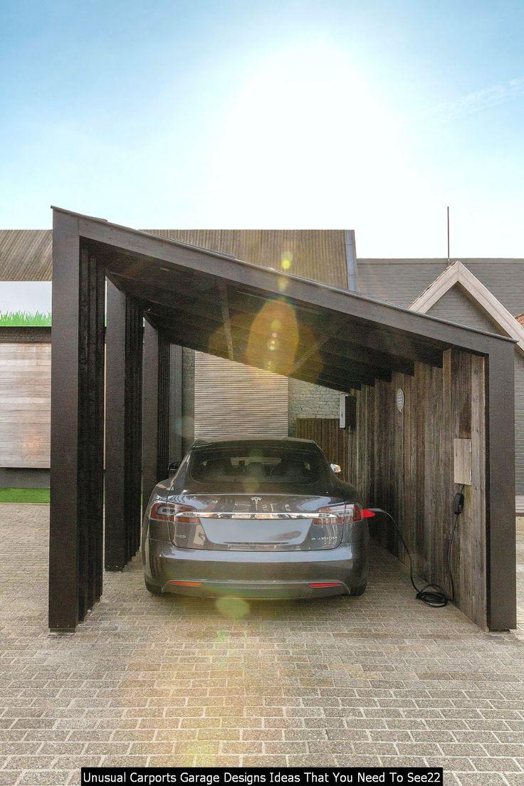 Cool Unusual Carports Garage Designs Ideas That You Need
