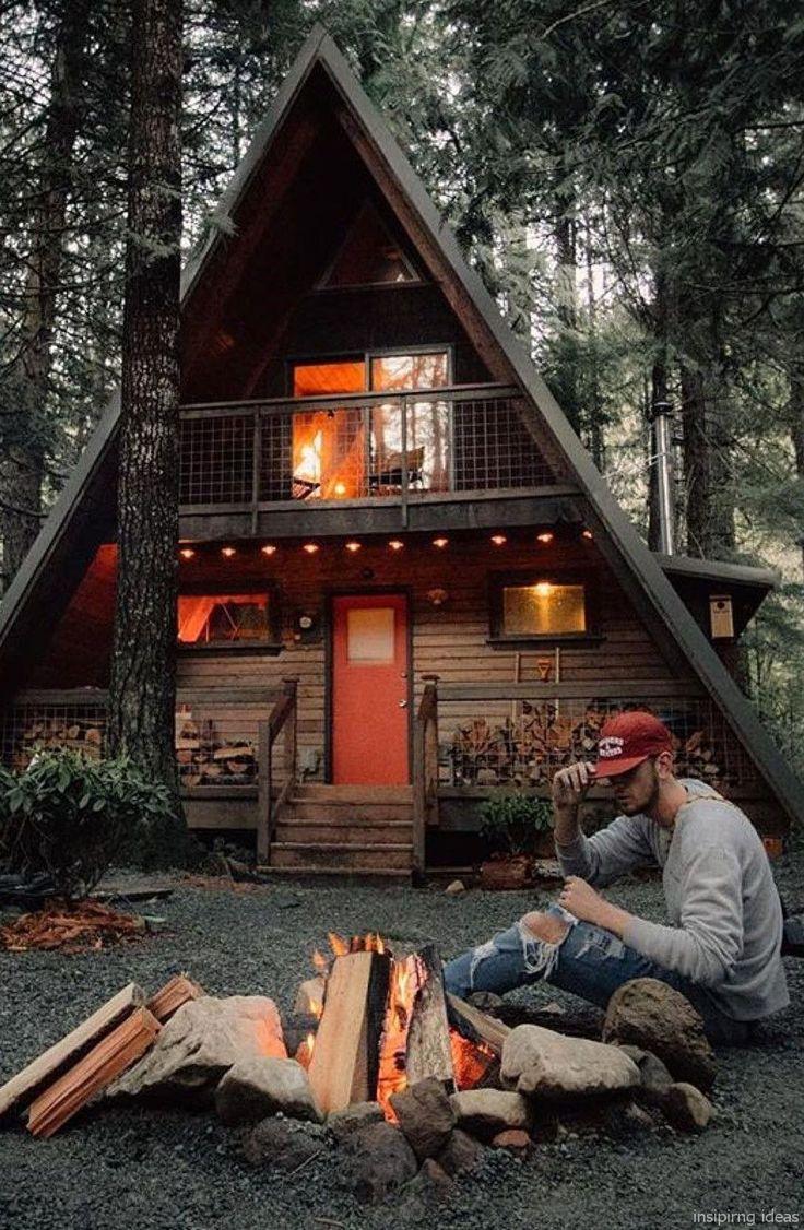 043 Small Log Cabin Homes Ideas