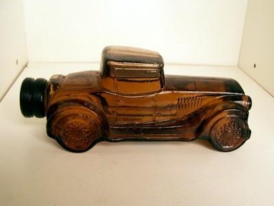 Avon Old Cars Bottles