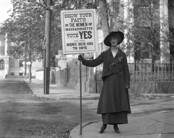 Powerful Photographs From The Women's Suffrage Movement