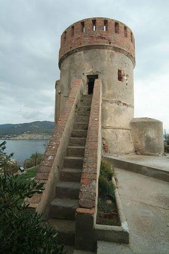 Torre di Marina di Campo isola elba  #TuscanyAgriturismoGiratola