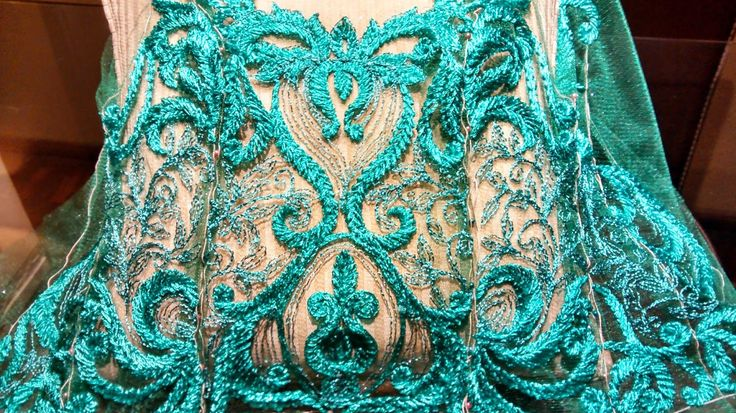Life passes but I do not pass ... The live: MARCO JEREZ AND SUBLIME OF EMBROIDERY IN HAUTE COUTURE
