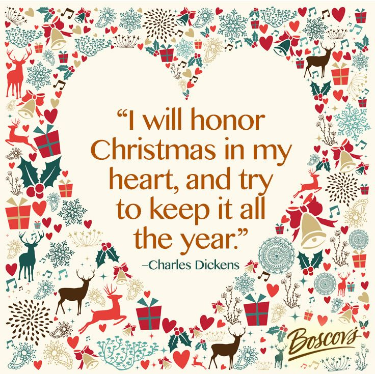 """Keeping Christmas All The Year: """"I Will Honor Christmas In My Heart, And"""