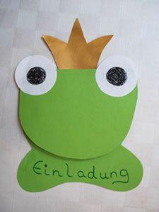 Einladung Froschkönig