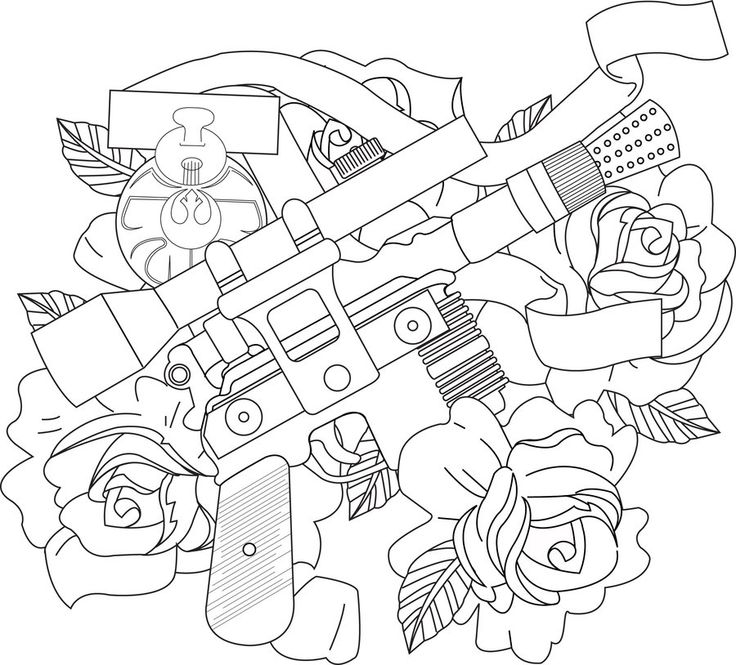 81 best tattoo flash images on pinterest american for Han solo coloring pages