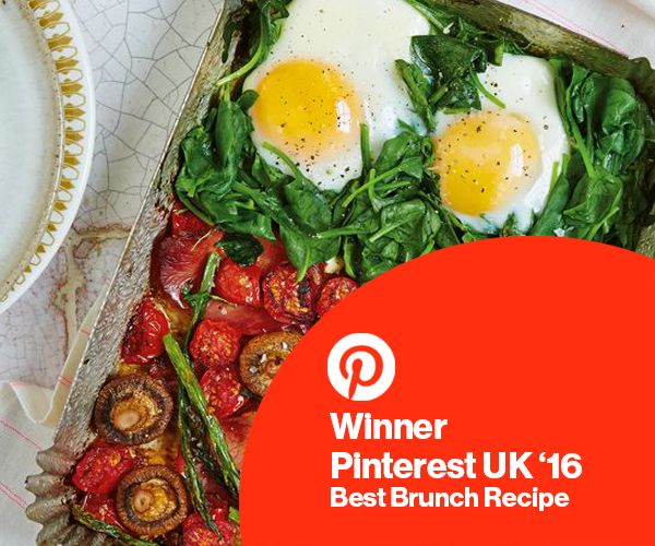 Thank you Pinterest and all of the lovely people that voted for awarding us with 'Best Brunch' for our One Pan Full Monty. We're so happy to see you love this dish as much as we do!