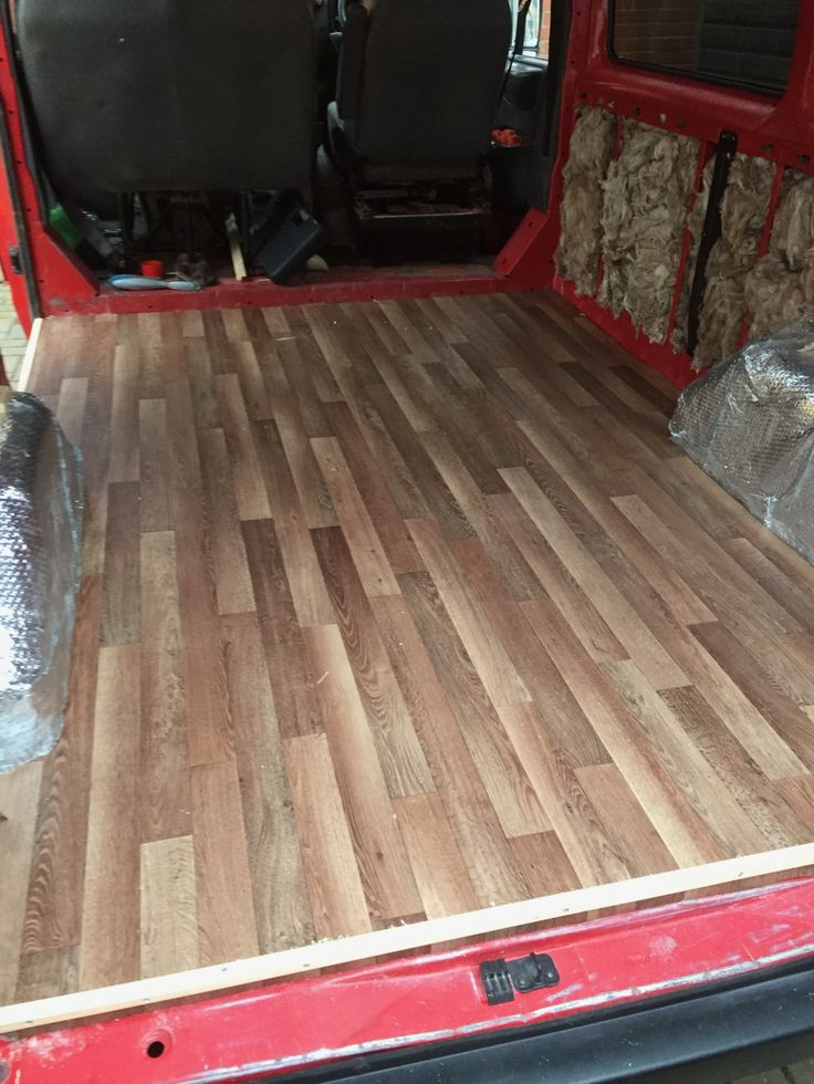 Van Conversion How To Install Floor