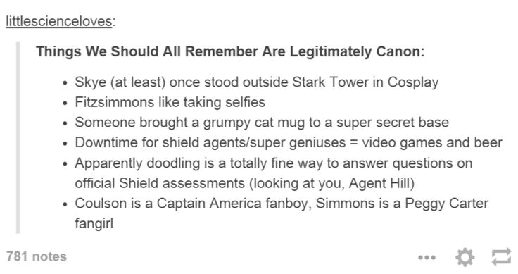 Also, May likes to pull pranks, the team likes to play board games together,  and FitzSimmons like Doctor Who (FitzSimmons are whovians)