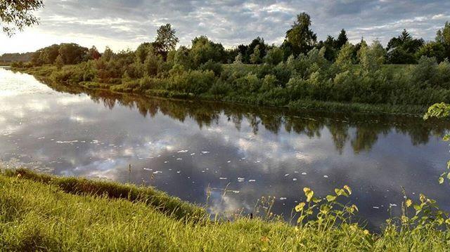 Ивановская область, село Холуй, русло реки  Теза