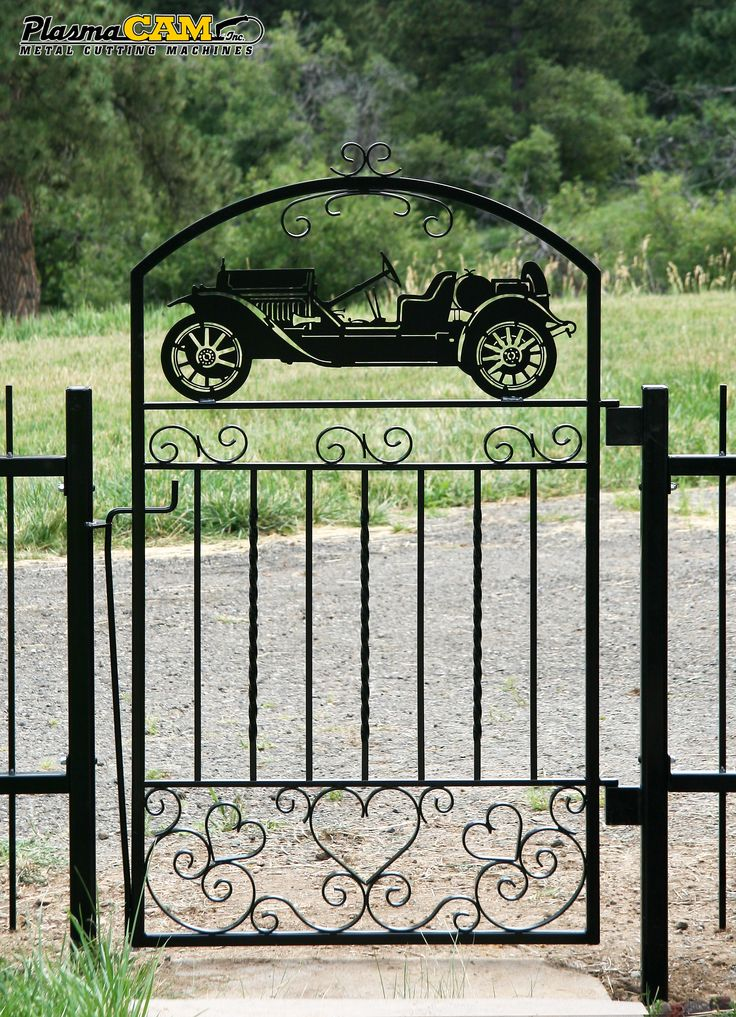 Best metal gates fencing images on pinterest iron