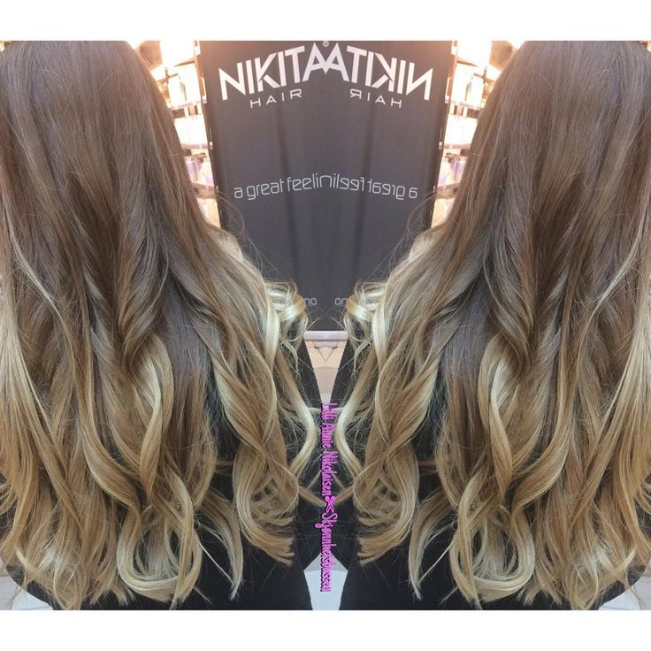 Yet another balayage done by me. I am loving my job so much.