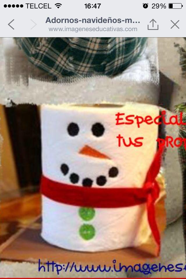 Para un regalo chusco manualidades pinterest - Para navidad manualidades ...