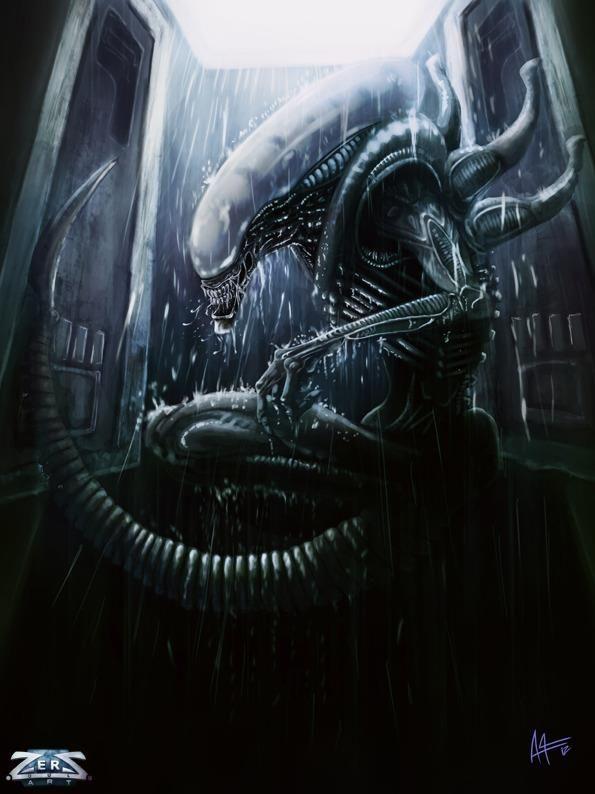 Alien by Aurelien Adnot