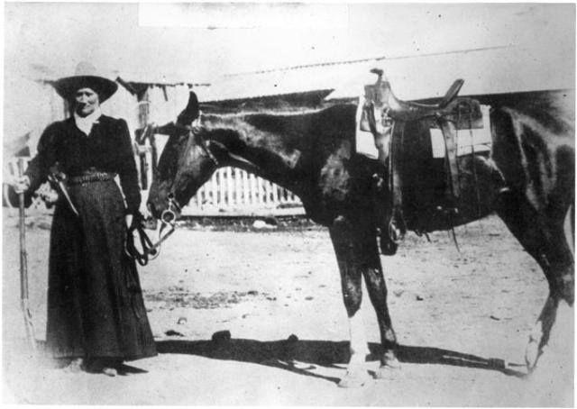 Martha Jane Canary Calamity Jane 1885.  Colorado Springs
