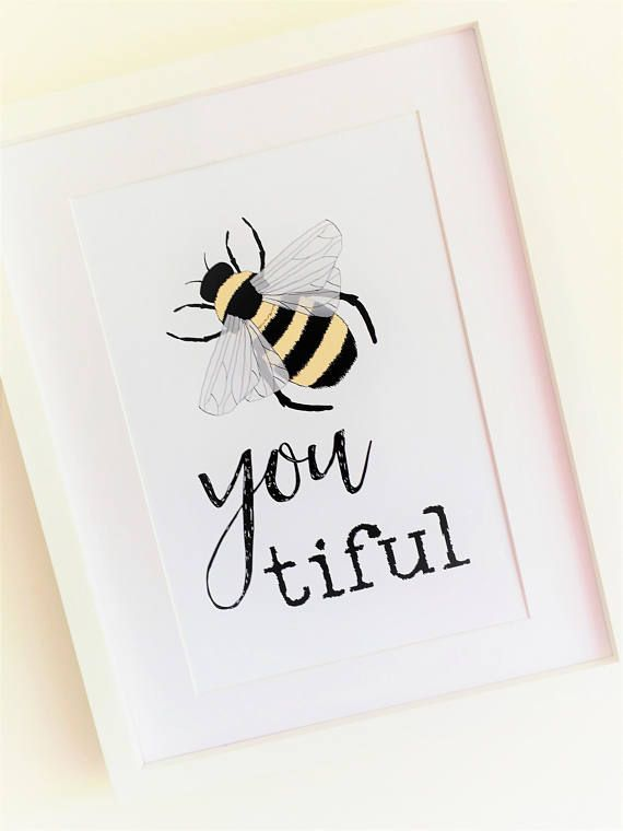 Bumble Bee Picture Beautiful Quote Art Inspirational Quote