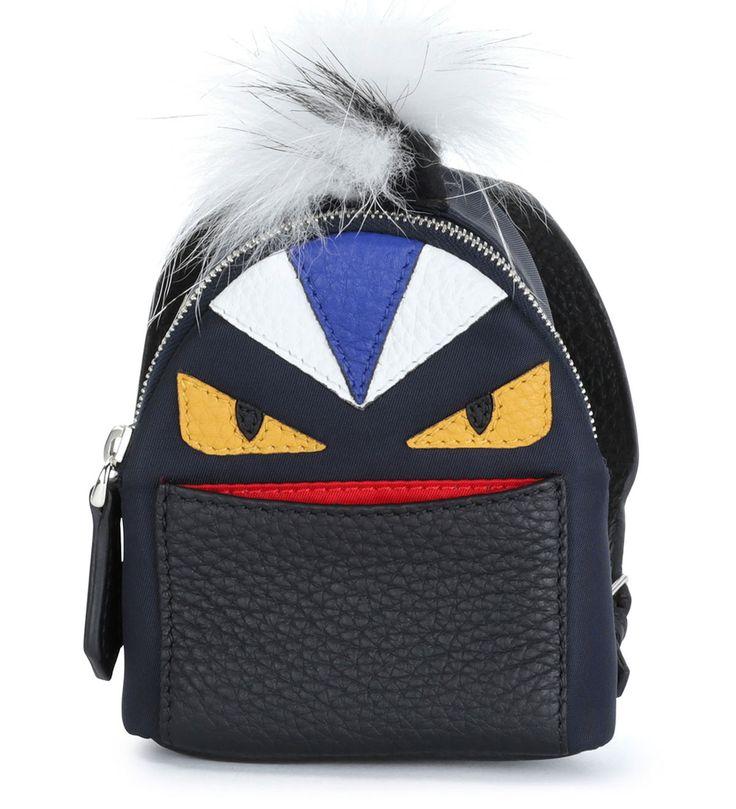Fendi Micro Monster Backpack-Shaped Charm Navy           $189.00