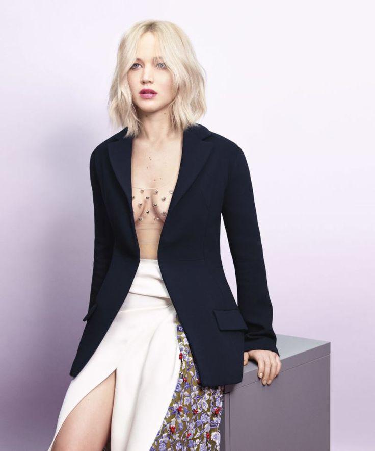 Jennifer Lawrence's perfect interview with Harper's Bazaar to promote X-Men: Apocalypse|Lainey Gossip Entertainment Update