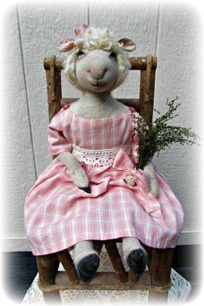 Lamb Spring DOLL E pattern $6.00