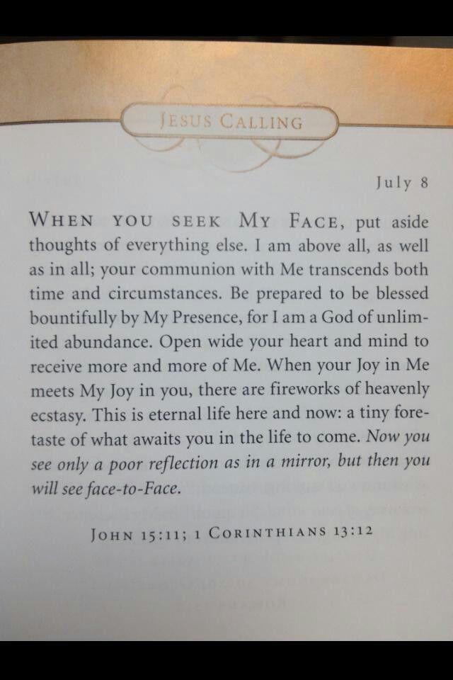 Jesus Calling....Sarah Young